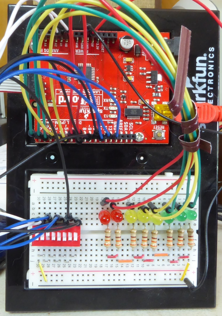 Front Panel Project ATmega328 Working with Registers